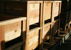 Boîtes de planteur Images libres de droits