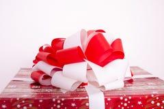 Boîtes de rouge de nouvelle année Photos libres de droits