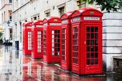 Boîtes de téléphone de jardin de Covent photographie stock libre de droits