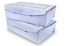 Boîtes en carton - #1 Photographie stock libre de droits