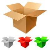 Boîtes en carton. Photo libre de droits