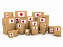 Boîtes en carton Image stock