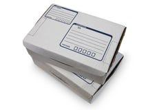 Boîtes en carton - #2 Photos stock