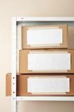 Boîtes en carton photos libres de droits