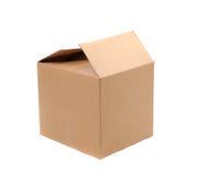 Boîtes en carton ondulé Photographie stock libre de droits