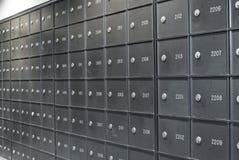 Boîtes postales Photo libre de droits