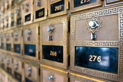 Boîtes postales Photographie stock