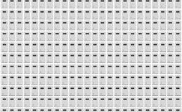 Boîtes verrouillées empilées illustration de vecteur