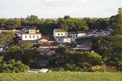 Boîtier baroque dans Tiradentes photo libre de droits