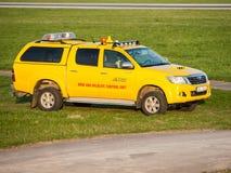 Boîtier de commande d'oiseau et de faune chez Vaclav Havel Airport Prague Photographie stock