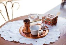 Bośniacka kawa w Sarajevo obrazy stock