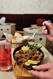 Bośniacki jedzenie zdjęcia royalty free