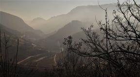 Bośniackie góry fotografia stock