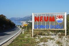 Bośniaka wybrzeże Fotografia Stock