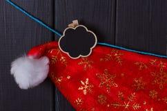Boże Narodzenia: Święty Mikołaj nakrętki zdjęcie stock