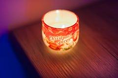 Boże Narodzenia, świeczka, noc, drewno, zmrok, markotny, obrazy royalty free