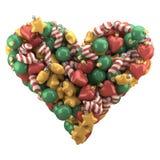 Boże Narodzenia bawją się serce Obraz Royalty Free