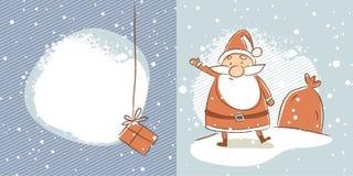 boże narodzenia Claus Santa ilustracja wektor