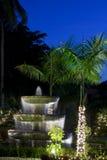 boże narodzenia dekorowali tropikalnego Zdjęcie Royalty Free