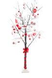 boże narodzenia dekorujący drzewo Fotografia Stock