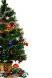 boże narodzenia dekorujący drzewo Obraz Royalty Free