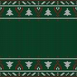 Boże Narodzenia dziający wzór Zima geometryczny bezszwowy wzór de ilustracja wektor
