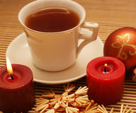 boże narodzenia herbaciani Fotografia Royalty Free
