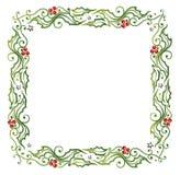 Boże Narodzenia, holly Obrazy Stock