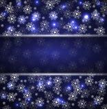 Boże Narodzenia i nowego roku noc tło Zdjęcia Stock