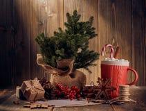 Boże Narodzenia i nowego roku skład zdjęcia stock