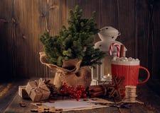 Boże Narodzenia i nowego roku skład zdjęcie royalty free