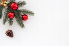 Boże Narodzenia i nowego roku tło obraz stock