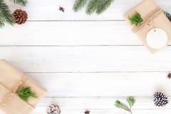 Boże Narodzenia i nowego roku tło Zdjęcia Royalty Free
