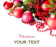 Boże Narodzenia i nowy rok dekoracje Obrazy Stock