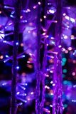 Boże Narodzenia i przyjęć światła pewny typ obraz stock