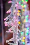 Boże Narodzenia i przyjęć światła pewny typ obraz royalty free