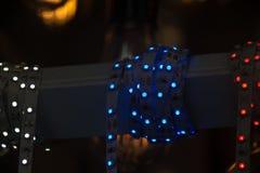 Boże Narodzenia i przyjęć światła pewny typ fotografia royalty free