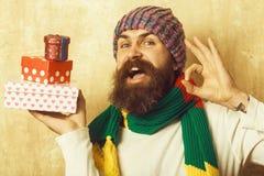Boże Narodzenia i urodziny zdjęcia stock