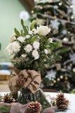 Boże Narodzenia kwieciści Zdjęcia Royalty Free