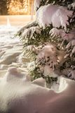 Boże Narodzenia/Lapland /details, boże narodzenia//Finland, bożych narodzeń trybowy/czas Fotografia Stock