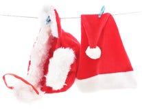 Boże Narodzenia nakrywają na sznurku obraz royalty free
