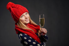 Boże Narodzenia, nowy rok, zima wakacji świętowania pojęcie Zdjęcie Royalty Free