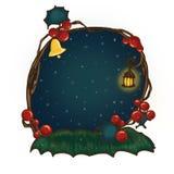 Boże Narodzenia obramiają dla sezonu wakacyjnego Zdjęcia Stock