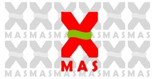 Boże Narodzenia Podpisują X-mas Zdjęcia Stock