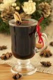 Boże Narodzenia rozmyślali wino Zdjęcia Royalty Free
