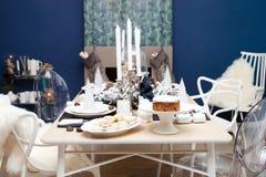 Boże Narodzenia stwarzają ognisko domowe dekorację Obrazy Stock
