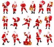 boże narodzenia szczęśliwy Santa Zdjęcie Stock