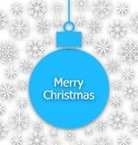 Boże Narodzenia tapetują skład, niezwykły kartka z pozdrowieniami Obraz Royalty Free