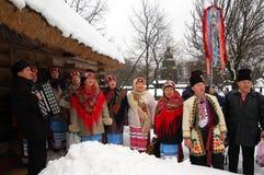 boże narodzenia ukraińscy Obrazy Royalty Free