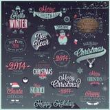 Boże Narodzenia ustawiający ilustracji